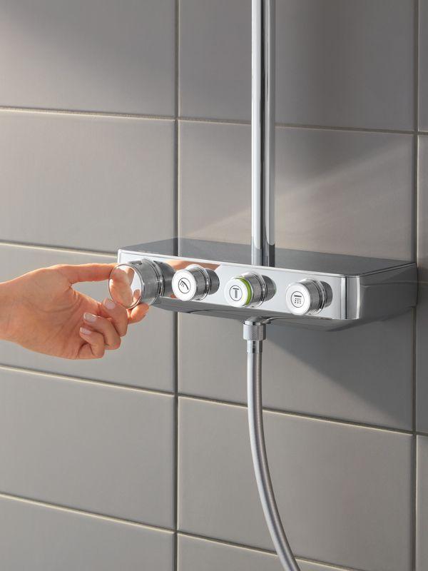 GROHE Euphoria SmartControl Duschsystem   Ihr Sanitärinstallateur Aus  Schwelm   Winkel Wärme + Bäder